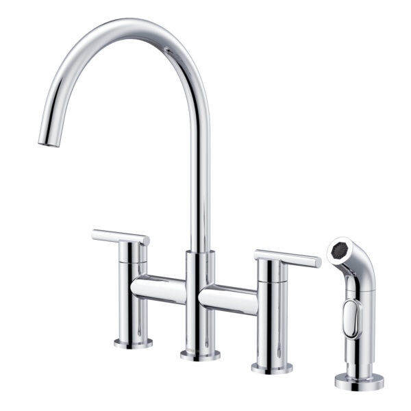 parma bridge faucet chrome
